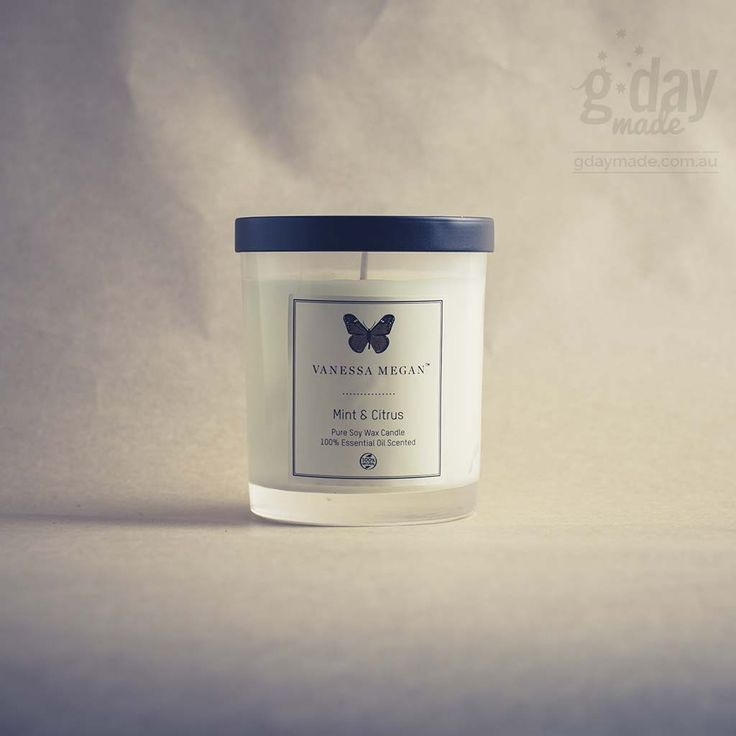Nothing elicits strong childhood memories as much as a certain aroma. And the Vanessa Megan Mint & Citrus Soy Wax Candle is the scent of home. Created with the purest 100% natural soy wax and scented with 100% pure essential oils, the Vanessa Megan Mint & Citrus Soy Wax Candle isn't your ordinary candle.