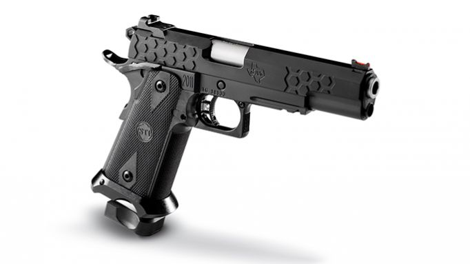 2011 DS 5.0 Hex Tactical Pistol From STI
