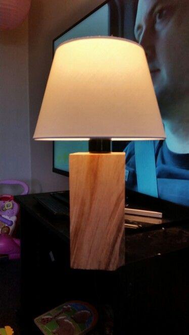 Ancient Kauri lamp