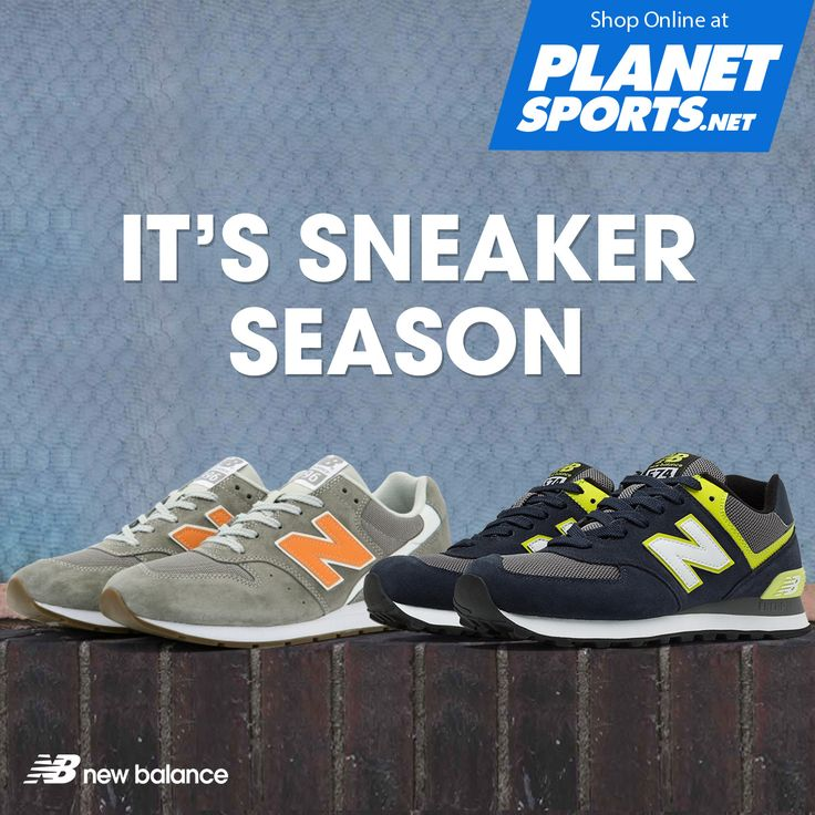 Way beyond classic, New Balance Lifestyle collection is crafted with a timeless mix of suede and mesh. Using lightweight cushioned midsole for added comfort. Available in Planet Sports and shop online at www.planetsports.net