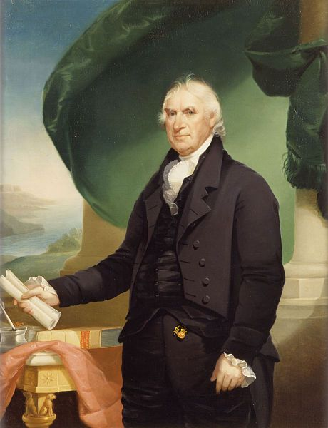 4th Vice President George Clinton by Ezra Ames
