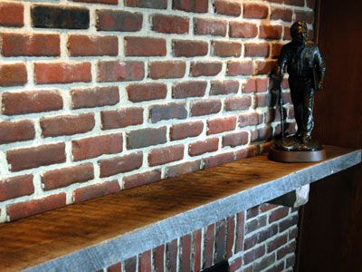 Reclaimed wood fireplace mantles by price elmwood for Price of reclaimed wood