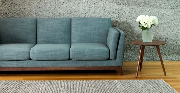 Ceni Aquarius Aqua Sofa - Sofas - Article | Modern, Mid-Century and Scandinavian Furniture