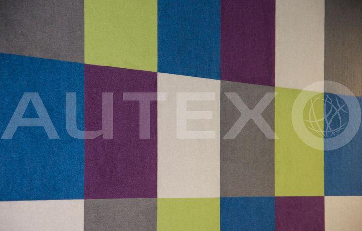 Autex Interior Acoustics - Composition® Peel'n'Stick - Natural Steps Childcare, Auckland, NZ - Colours: Phantom, Lime, Electric Blue, Koala & Civic - Acoustics in Education