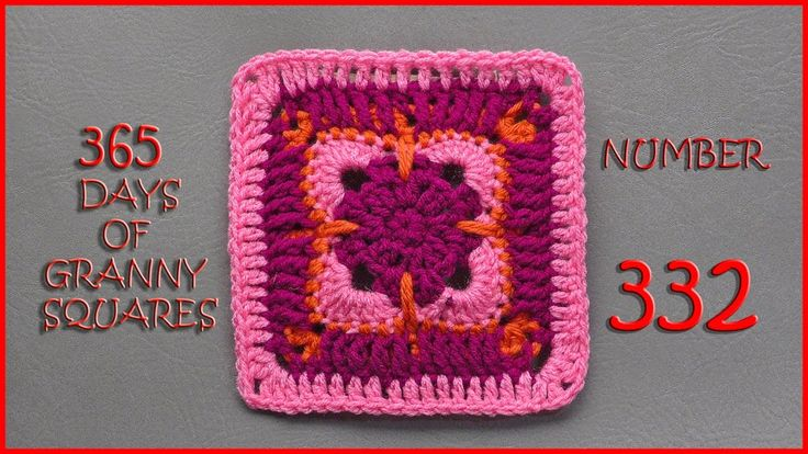 365 Days of Granny Squares Number 332