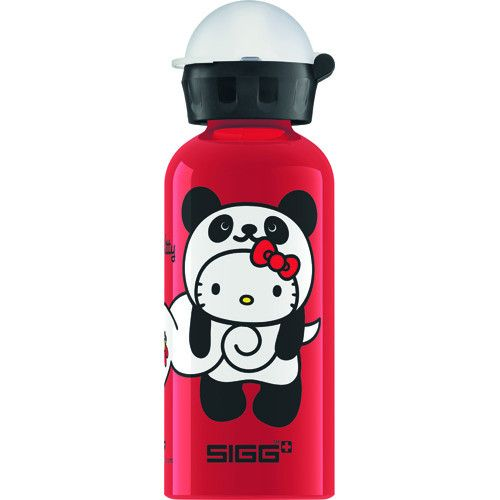 Sigg Water Bottle Kitty Panda Red .4 Liter