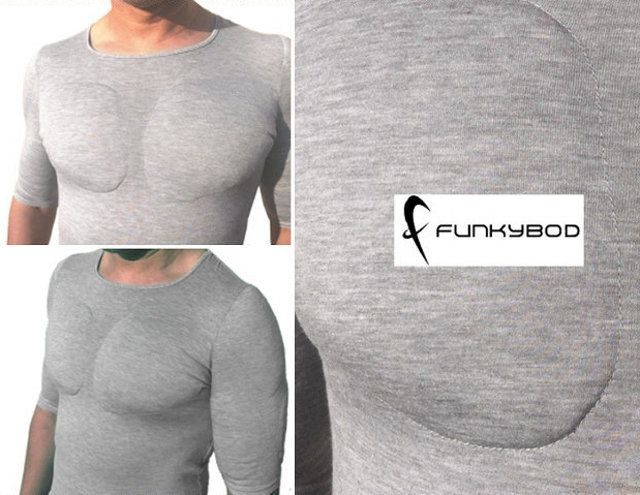 Oh Hai There, Tough Guy: $50 Padded Muscle Shirts