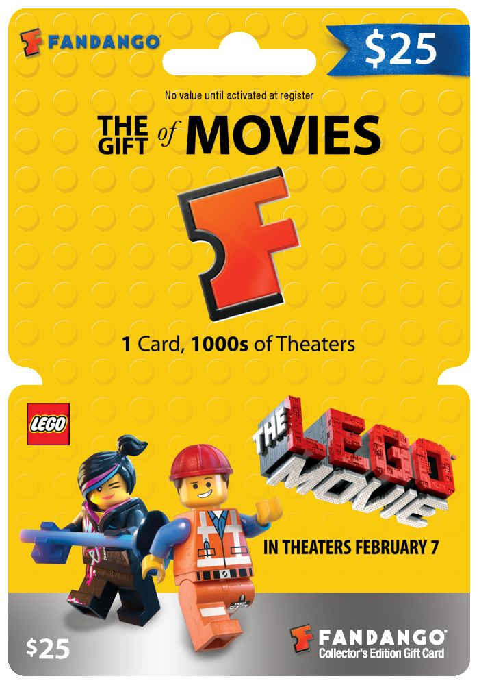 Win Fandango Gift Cards to see The LEGO Movie (Giveaway ...