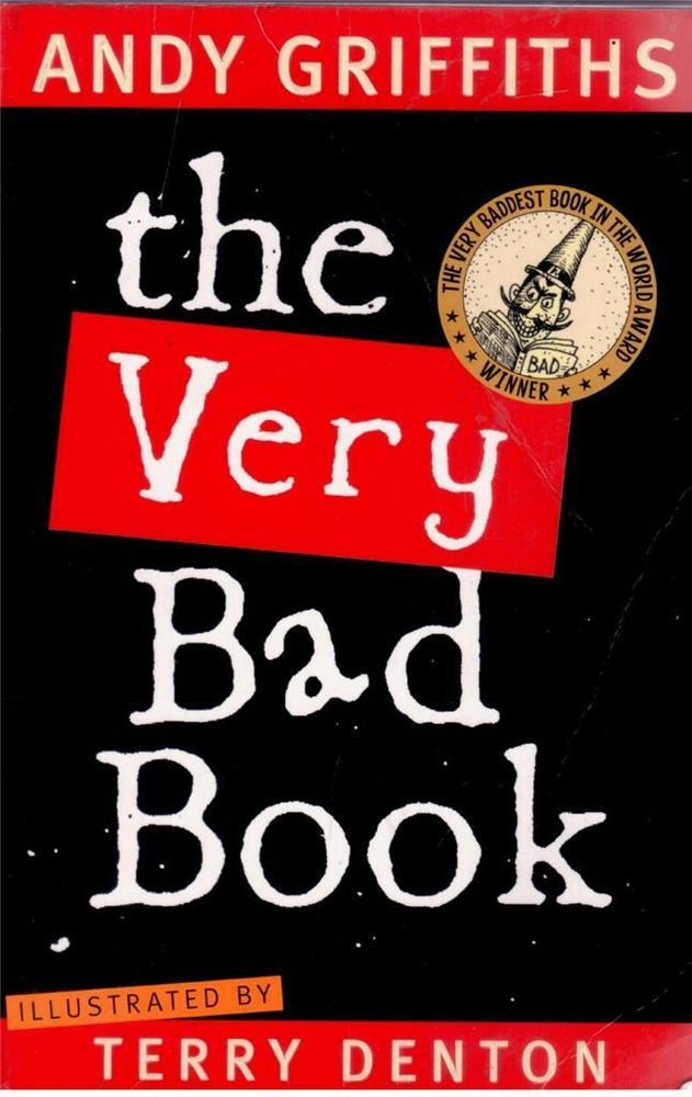 The Very Bad Book by Andy Griffiths and Terry Denton - Paperback - S/Hand