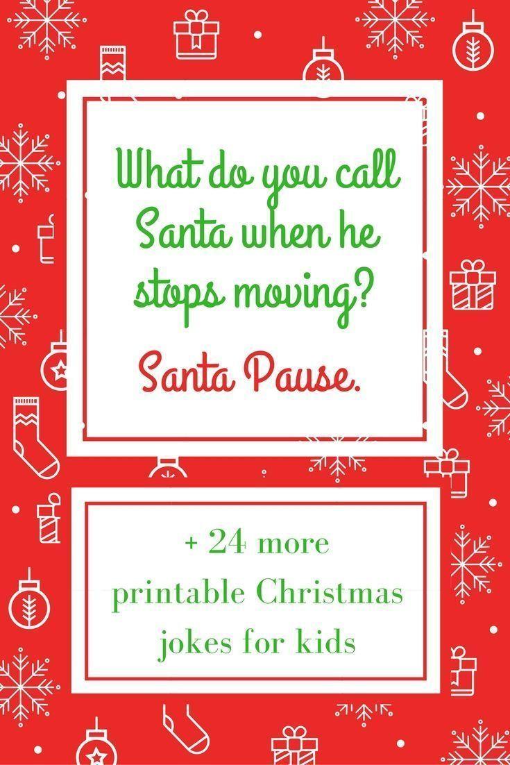 Christmas Jokes for Kids - Printable 4a9bc4d13