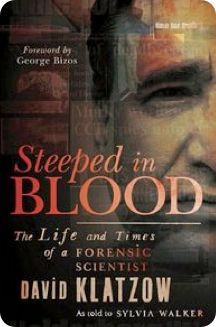Steeped in Blood, book by Dr Klatzow