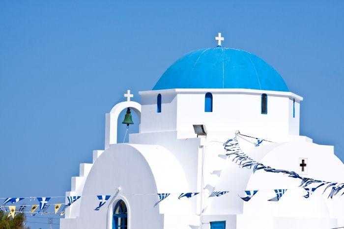 Church in Antiparos town