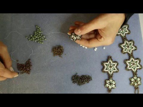Video Tutorial Orecchini Margherita / Perle e Perline Luvybijoux - YouTube