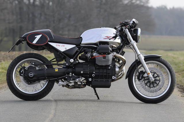 """Racing Cafè: Moto Guzzi Bellagio """"936 CR"""" by Italo Motos"""