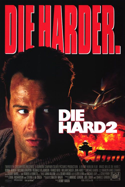 Die Hard 2 - John McClane, officer of the NYPD and hero of the Nakatomi Hostage Crisis, attempts to avert disaster as rogue military officials seize control of Dulles International Airport in Washington, D.C.