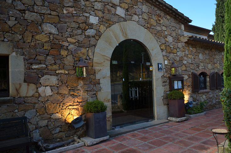 Hotel en Begur Fachada principal masia