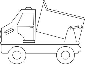 cardinal coloring pages preschool truck - photo#21