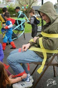 Throwing a DIY Retro Superhero Party- Games
