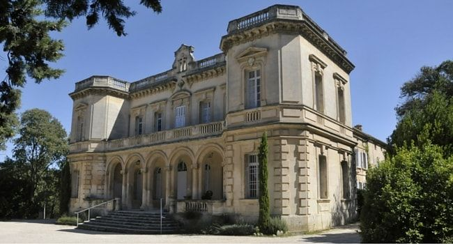 Chateau de Montauban Fontvieille #campingcar