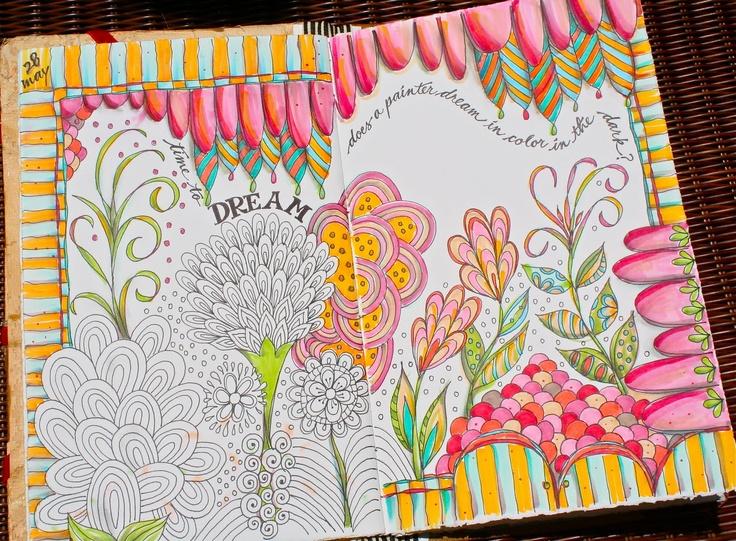 sunny morning doodle... pamela janes