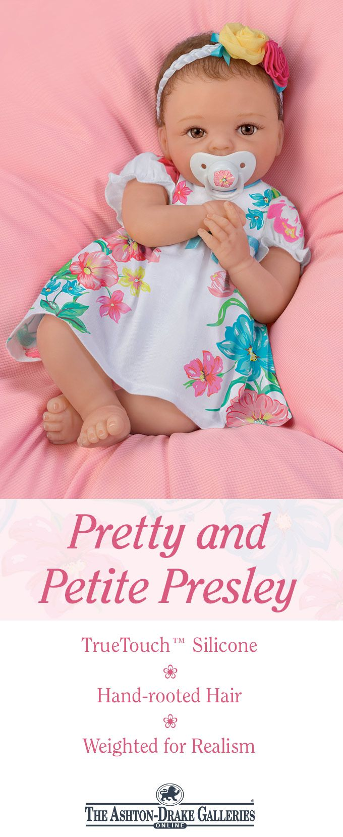 Cheryl Hill Pretty And Petite Presley Silicone Baby Doll Silicone Baby Dolls Baby Dolls Real Looking Baby Dolls