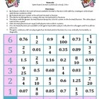 Decimal Fraction Reaction is a 2-player game that allows the students to practice comparing decimal and fraction numbers. Each player rolls two dic...