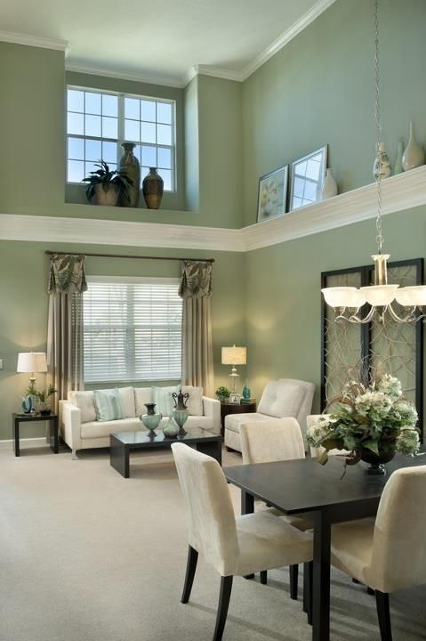 OMG yes! Ideas for the tall ceilings! LOVE!