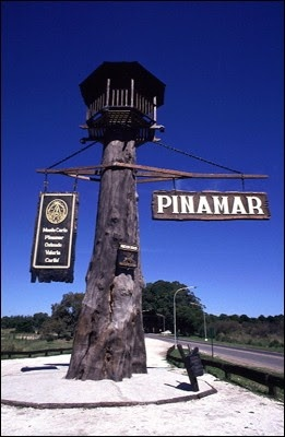 Entrada a Pinamar