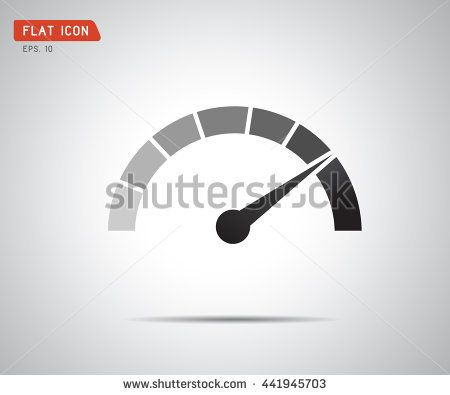 Classic Performance measurement. Icon Vector, logo illustration