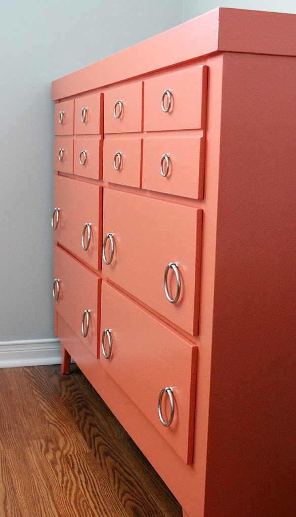 Best 25 Coral Dresser Ideas On Pinterest Coral Painted