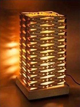 décoration, DIY, lampes, luminaires, objet détourné, pinces à linge, recyclage