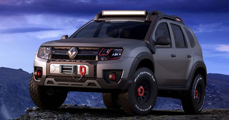 Renault Shows Sandero RS Grand Prix & Duster Extreme Concepts In Sao Paulo #Brazil #Concepts