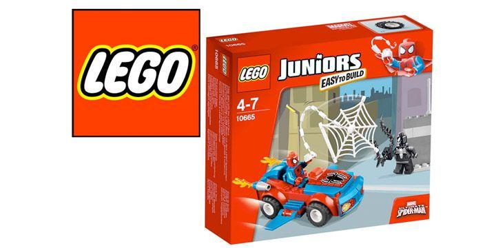 LEGO Juniors: coche de Spiderman. AHORRO 20%. 10.40€. #ofertas #descuentos
