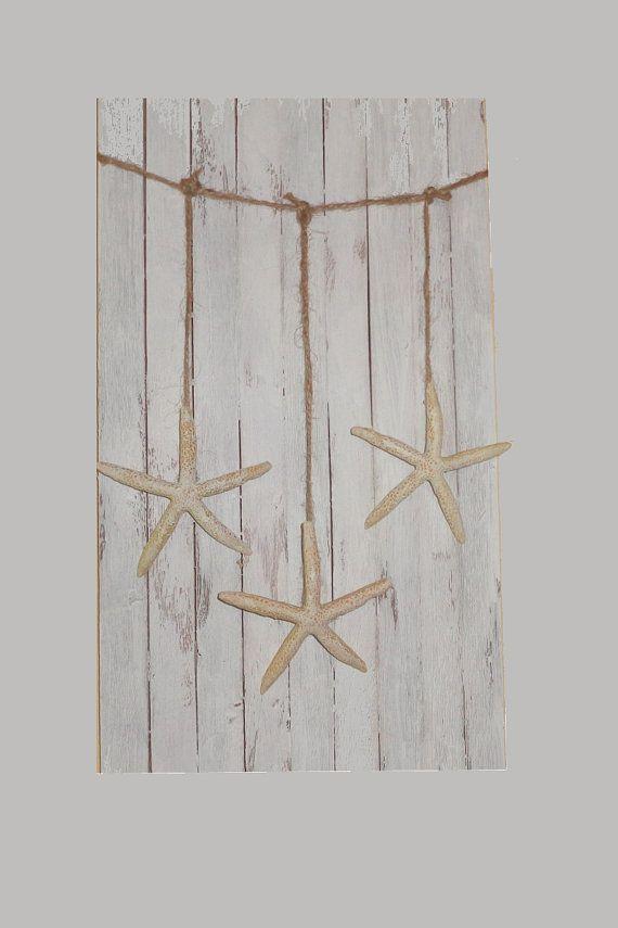 Starfish Wall hanging garland beach party mantel decoration