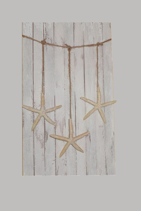Starfish Wall hanging garland beach party mantel decoration
