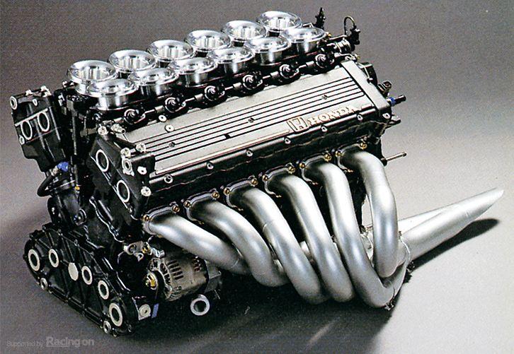 Formula 1 Honda 3.5L V-12 RA121E