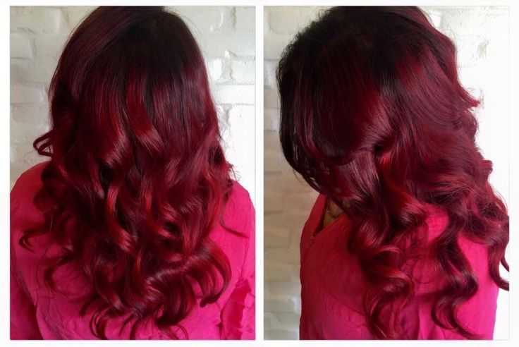 Perfect ombre hairstyle for dark hair by Sabrina Dumont