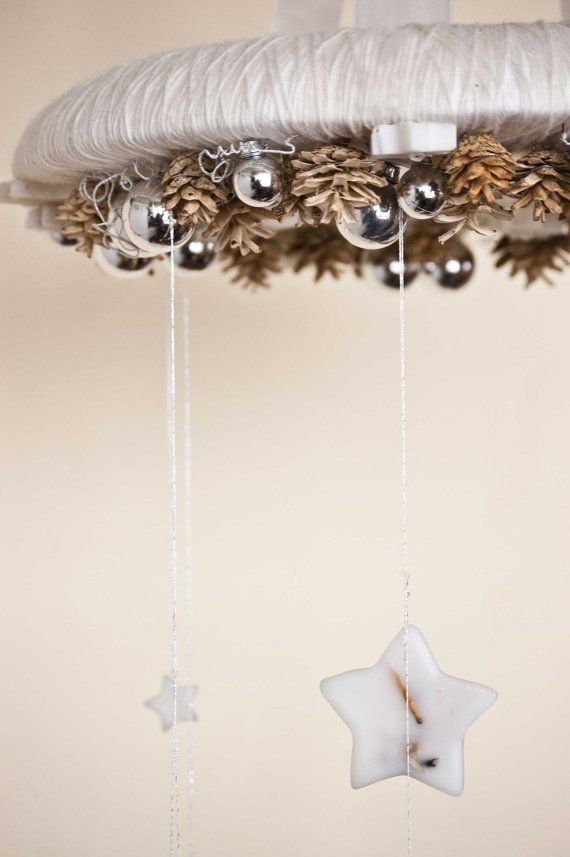 Christmas wreath  Wreath chandelier  Christmas by florasense, $80.00