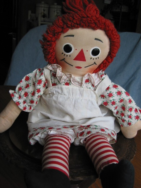 Raggedy Ann- My grandmother's. I loved it!