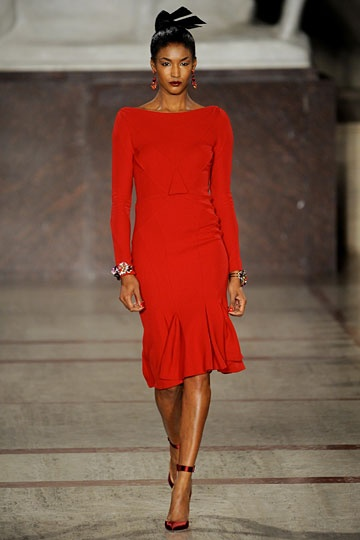 Zac Posen Fall 2012 RTW Fashion Show