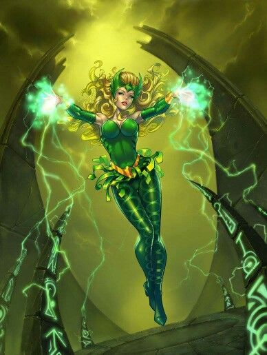 Amora the Enchantress.