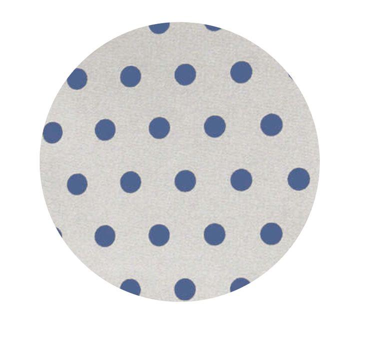 Gecoat tafellinnen Van Gogh Jeans 180cm - Vrolijk afwasbaar tafellinnen met print van donkerblauwe stippen op een beige ondergrond. Dit geplastificeerd katoen is van zeer goede kwaliteit en heeft een tefloncoating. Dit maakt het uiterst vlekwerend en oerdegelijk. Mag op 30 graden worden uitgewassen! Kies de gewenste lengte in het menu en wij snijden uw gecoate tafelkleed netjes voor u op maat.
