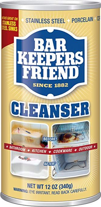 How To Deep Clean Granite Countertops  Bar keepers friend, Clean porcelain sink, Cleaning