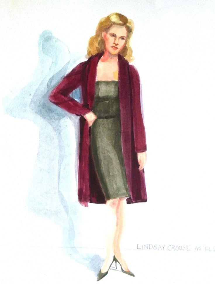 Lindsay Crouse in Lip Service  Costume Designer Donna Casey donnacaseyaira.tumblr.com
