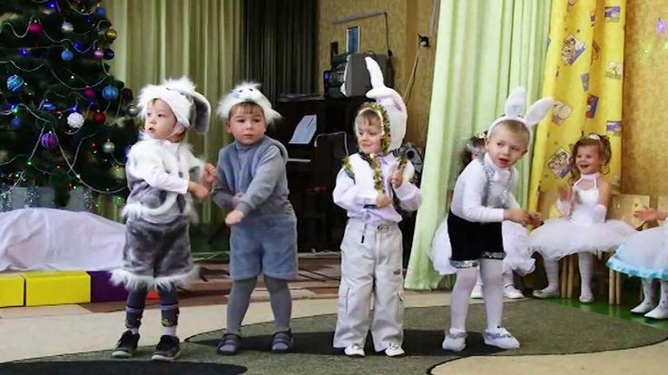 Танец зайчиков-энтузиастов--  Dance enthusiasts bunnies
