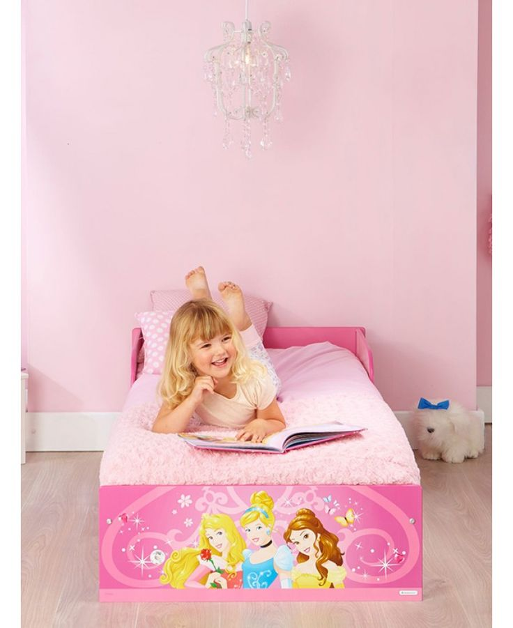 This Disney Princess Toddler Bed Is Ideal For The Transition From A Cot To Big And Includes Sprung Mattress Plus Free UK Delivery
