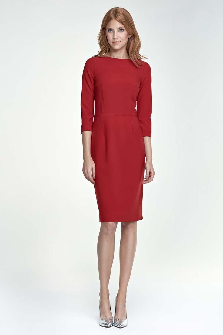 13 best robes manches courtes images on Pinterest   Midi dresses ... 68722ab6bbbd
