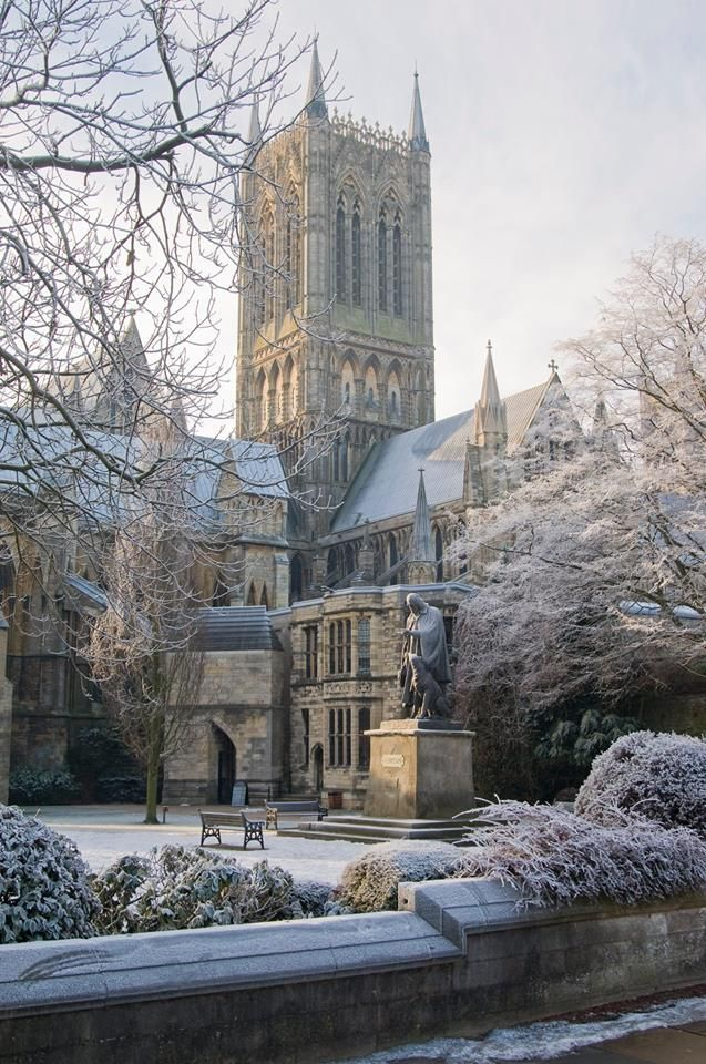Lincoln Cathedral, England.
