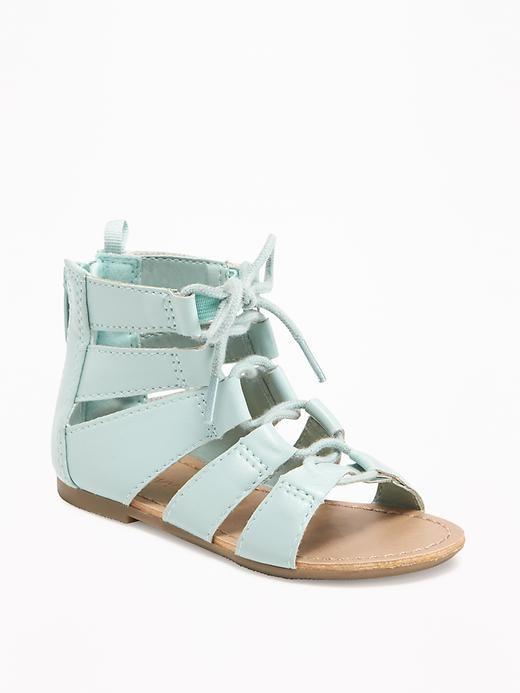 Old Navy mint sandals