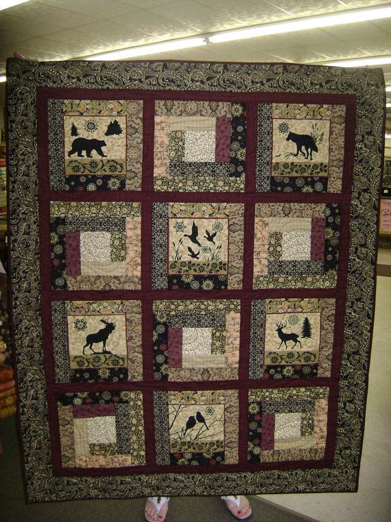 62 Best Images About Quilting Birds Deer Moose On